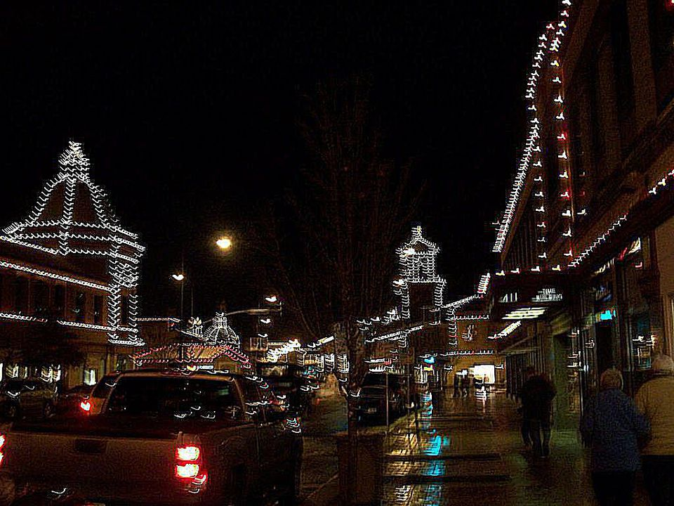 A beautifully lit Kansas City, Kansas, is just one Christmas tradition.