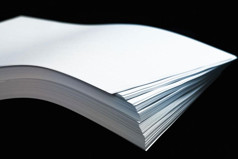 Wave of papers