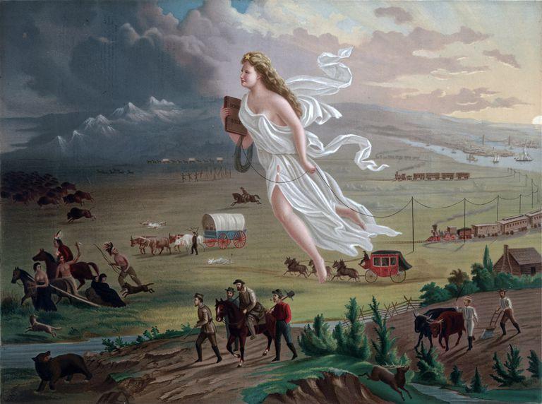 Progreso americano (pintura)