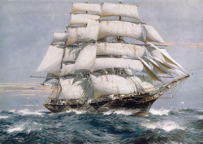 Ship High in Transit