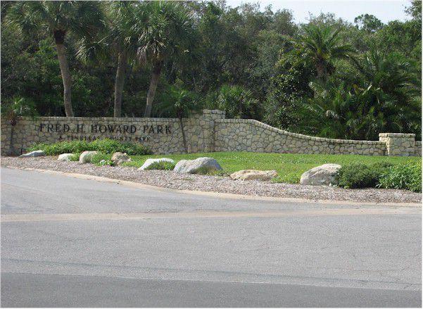 Fred H. Howard Park Entrance