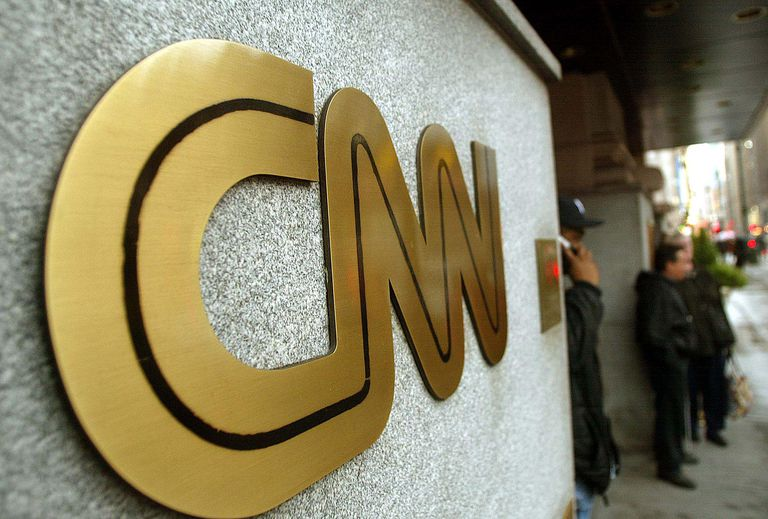 A picture of the CNN logo