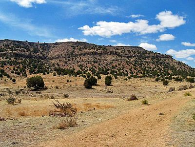 Black Mesa S Summit Is Reached By A 4 2 Mile Long Trail