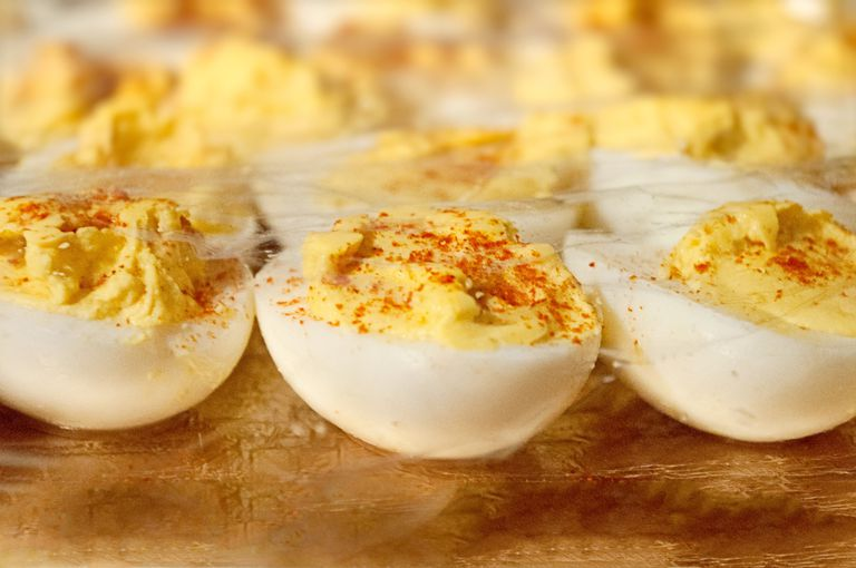 A Healthier Deviled Eggs Recipe