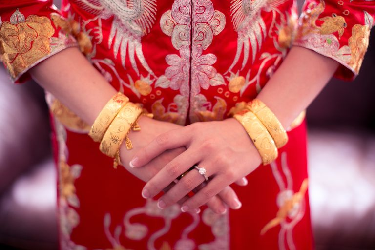 Chinese Bride Hands