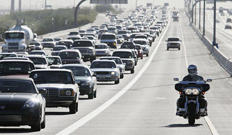 Rush Hour Traffic on the Loop 202
