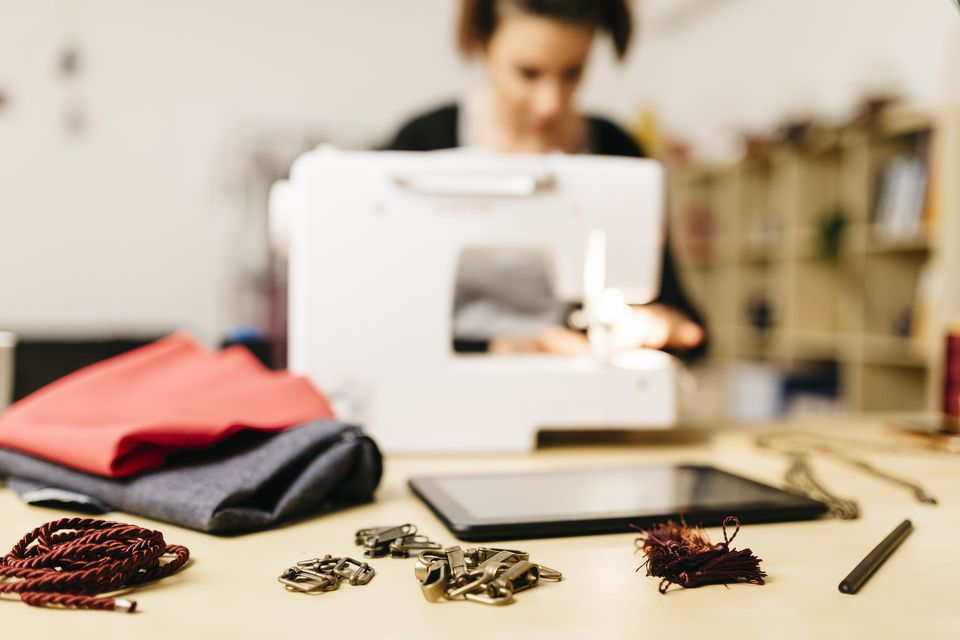 Designer sewing