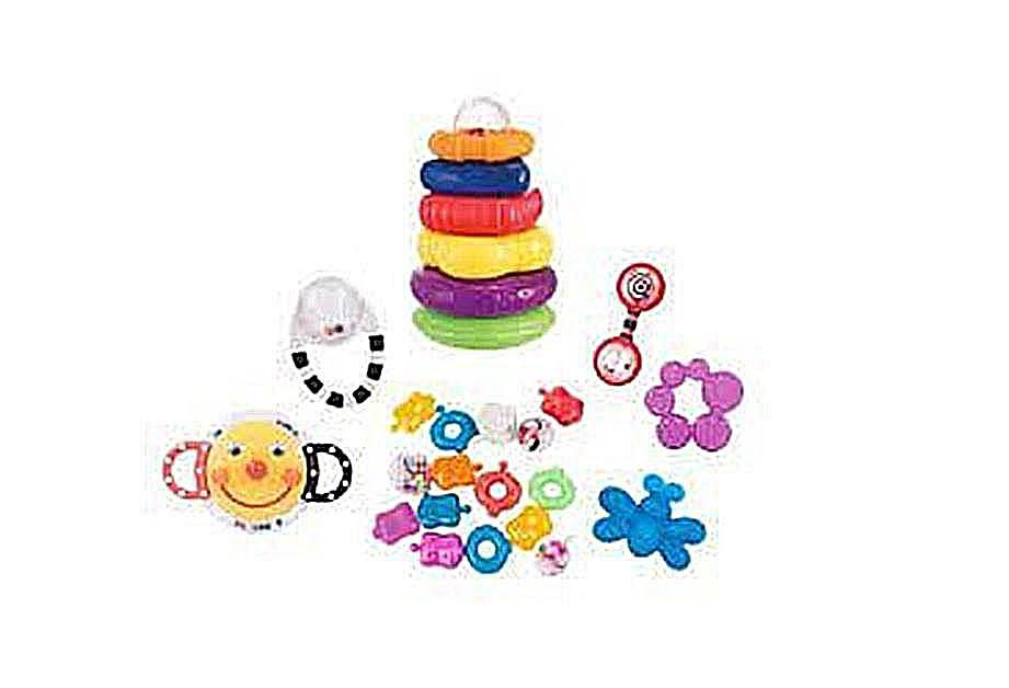 Sassy Teether and Rattle Set