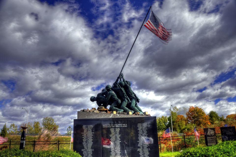 The National Iwo Jima Memorial Monument