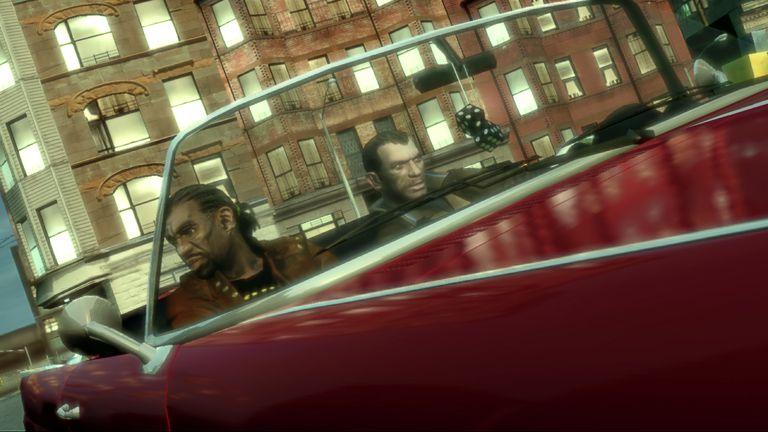 Grand Theft Auto IV (GTAIV) Convertible Screenshot