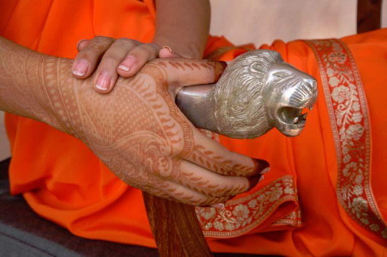 Mehendi, Indian henna body art