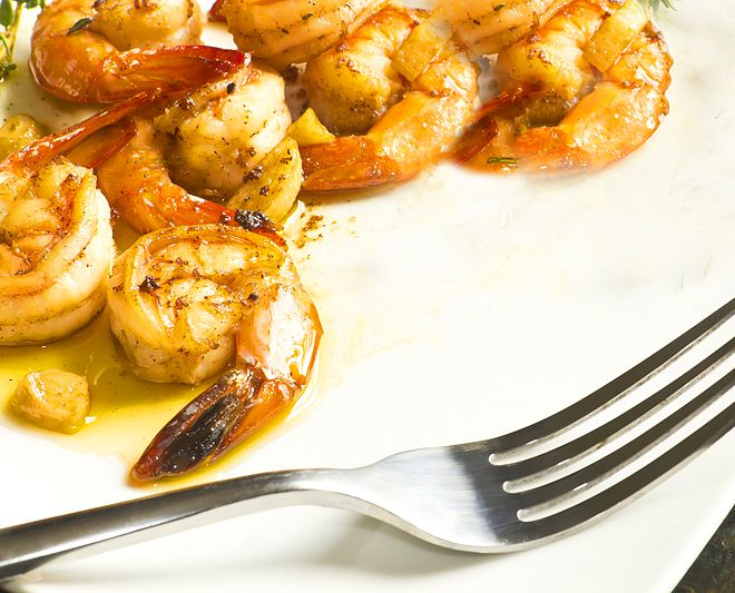 So-Good Thai Garlic Shrimp!