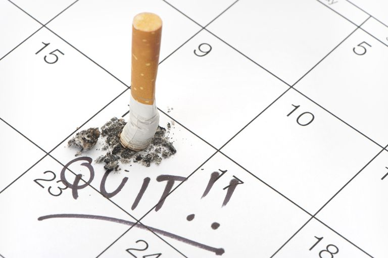 Choosing the best date to quit smoking on the calendar