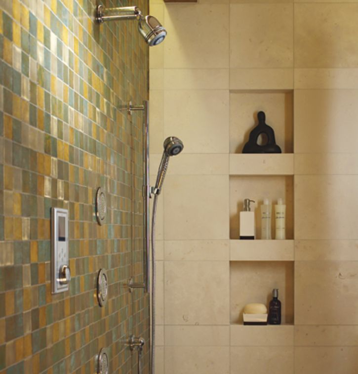 Mosaic Bathroom Tile Ideas: Tile Ideas For Showers