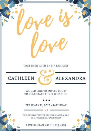 Free Wedding Invitation Templates You Can Customize - Cute wedding invitation templates