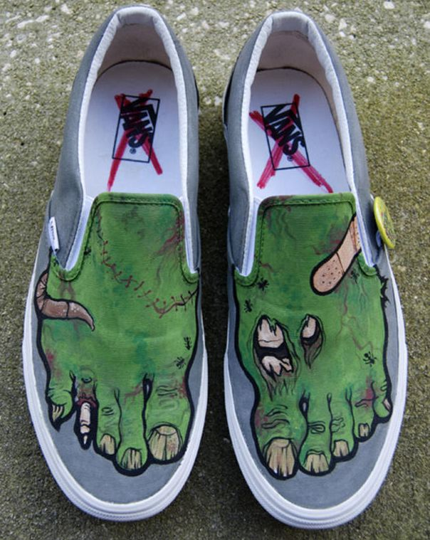 CHOOSE YOUR SHOES Is Michael Burk A Visual Artist Based In Brooklyn New York Each Pair Of His Custom Creations Weatherproof And Completely