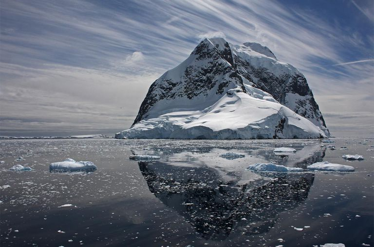 Antarctica Mountain Lemaire Channel