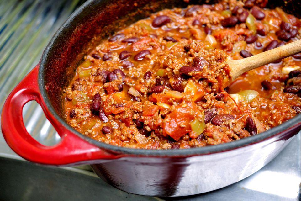 Home-made chili