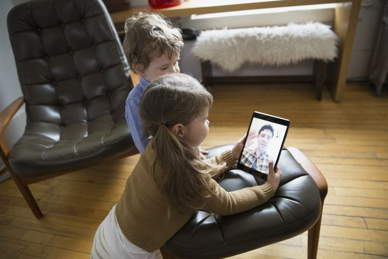 Kids using Facetime