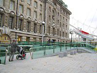 London Eye Ticket Hall Disabled Entrance