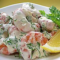 Shrimp Salad Recipe with Creamy Fresh Herb Dressing