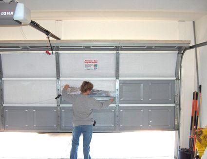 How to determine garage door sizes for 11 x 7 garage door