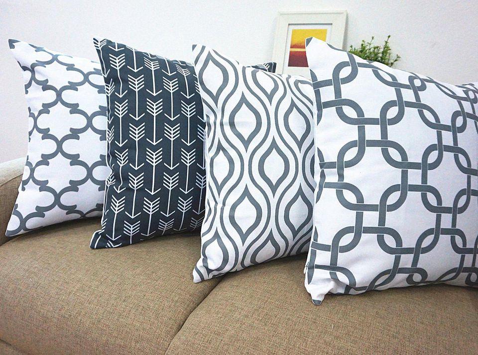 Throw pillows make good gift for grandmother