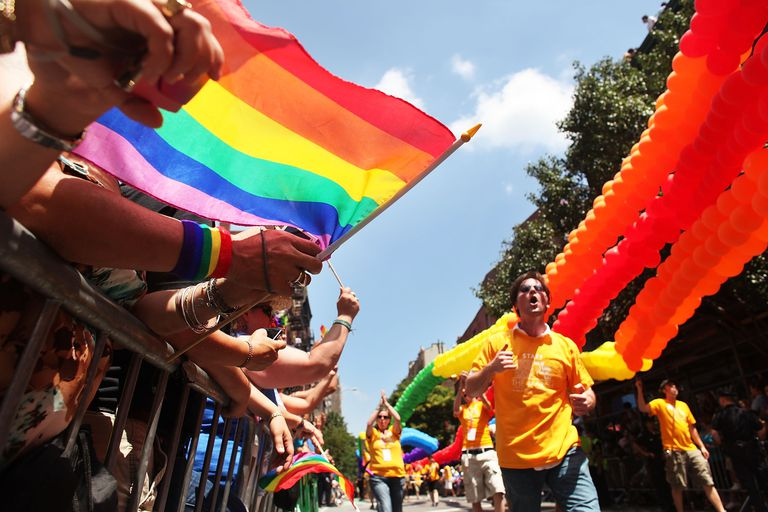 New York Holds Annual Gay Pride March