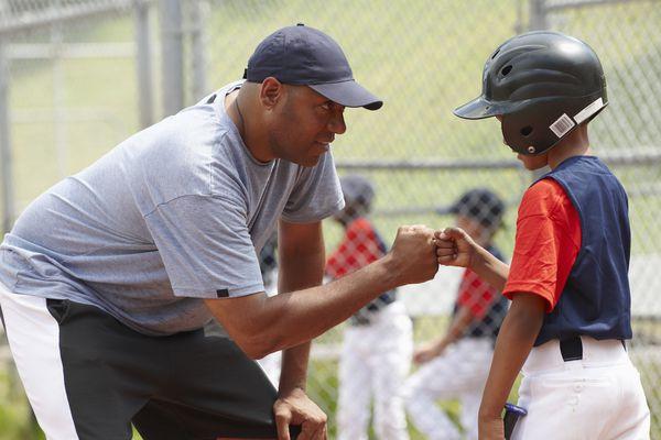 baseball player and coach