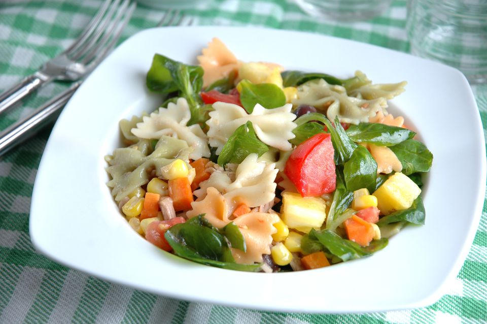 Fresh Spanish Pasta Salad