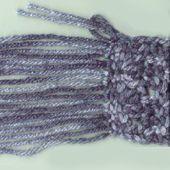 Fringe for Crochet Scarf