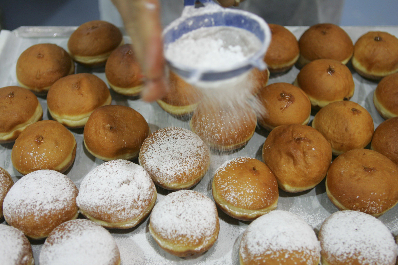 Little German Doughnuts Schmalzkuchen Recipe