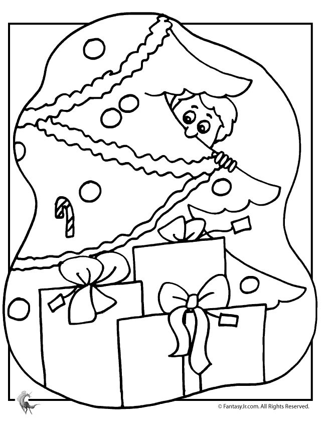 113 Free Christmas Tree Coloring Pages for the Kids