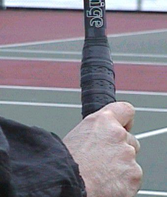 Full Eastern Backhand Grip