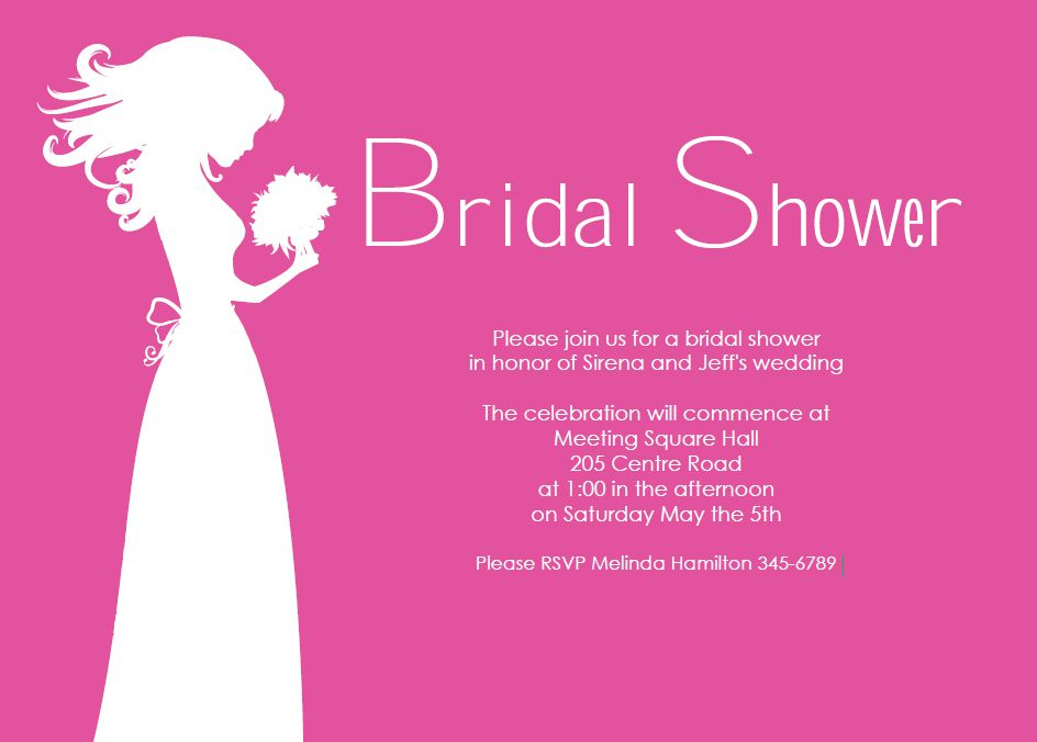 13 Free, Printable Bridal Shower Invitations With Style