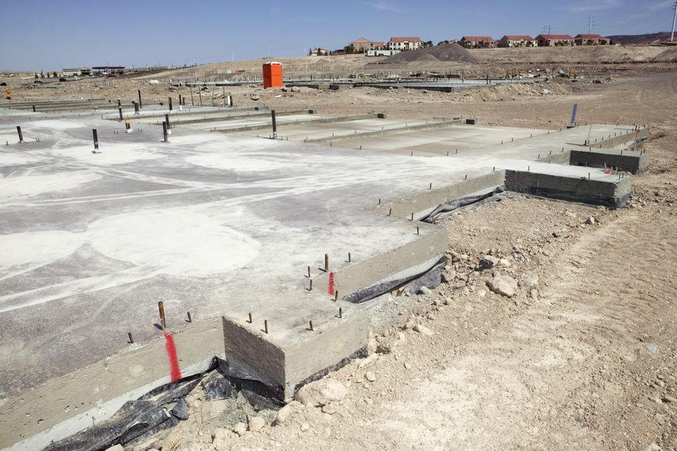 Concrete foundation