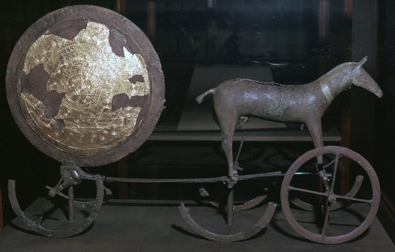 The Trundholm Sun Chariot (Bronze Age,