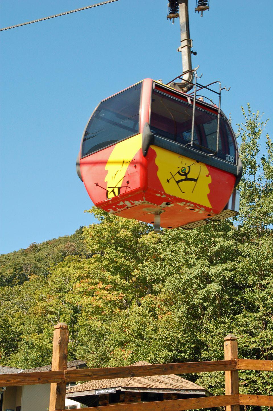 Gondola Rides at Killington in Killington Vermont