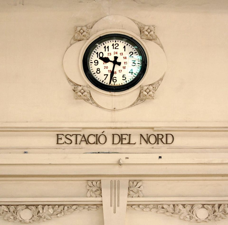 Estacio del Nord in Valencia