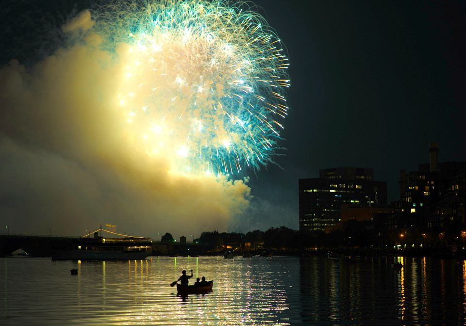Fourth of July in Boston