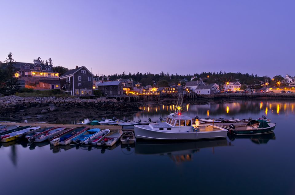 Stonington Maine by Twilight