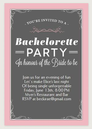 9 free printable bachelorette party invitations bachelorette party invitation from greetings island stopboris Images