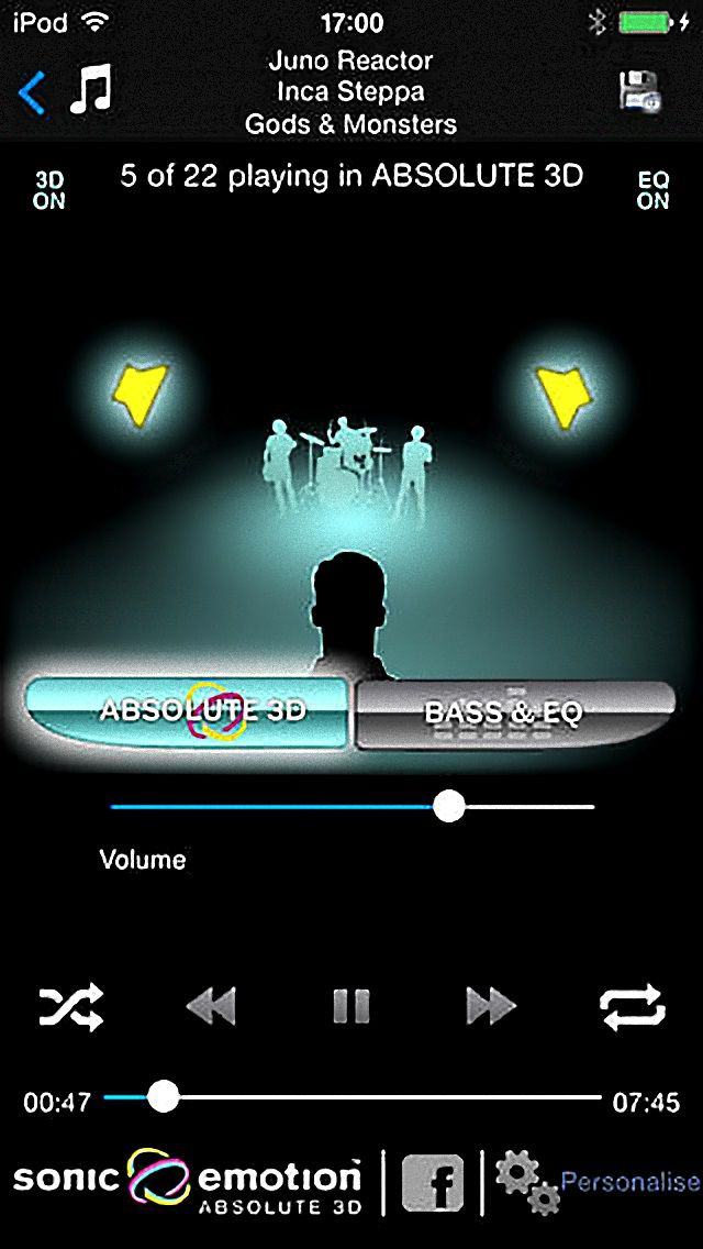 Headquake Music Player