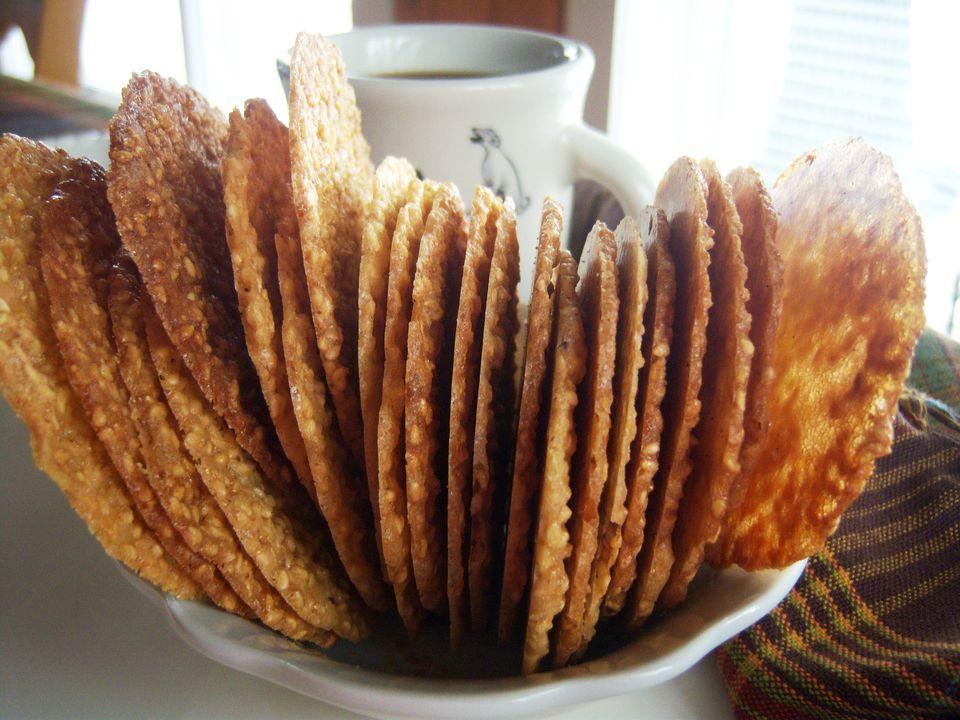 Gluten-Free Sesame Crisp Cookie Recipe Image Teri Gruss