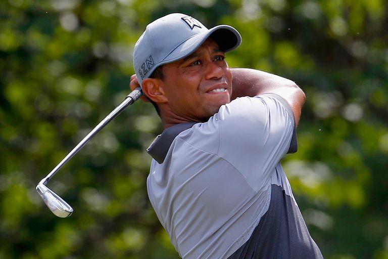 Professional golfer Tiger Woods.