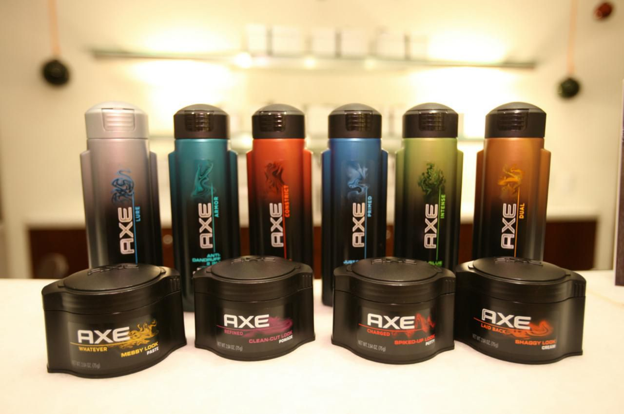 Axe Hair Line Of Styling Products Review