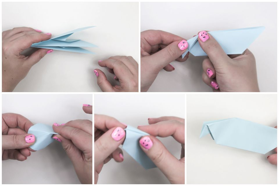 origami peace dove stepbystep instructions