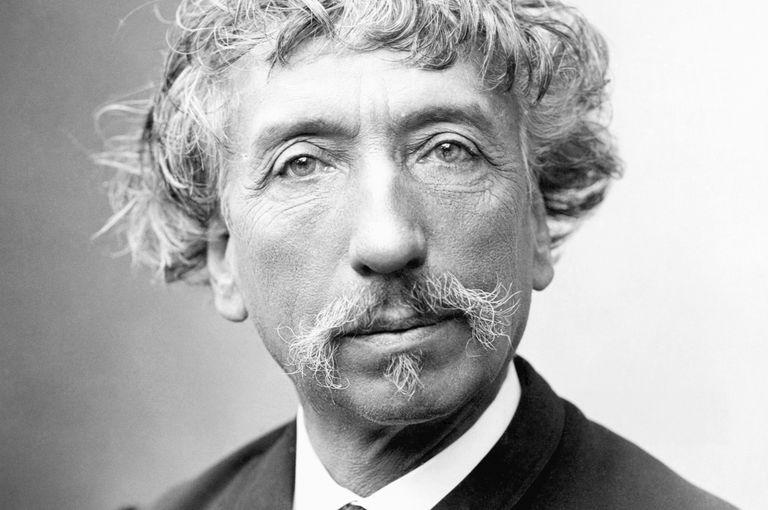 Black and white photo of Jean Louis Charles Garnier, designer of the Paris Opera