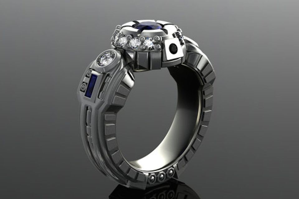 Star WarsInspired Engagement Rings