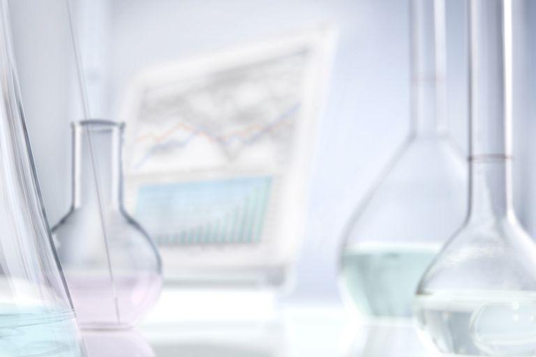 Research laboratory close-up
